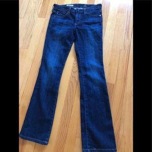 AG skinny boot cut jeans